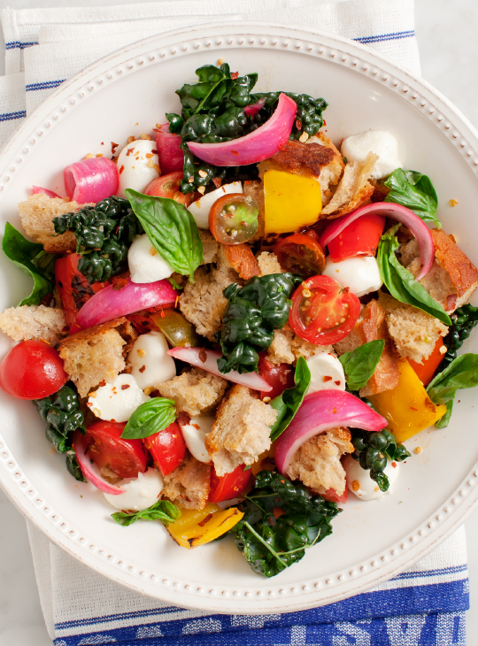 FOOD: Sweet Pepper Panzanella